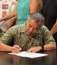 Hawaii Governor David Y. Ige