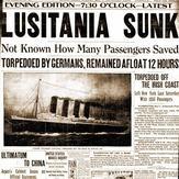 lusitania headlines