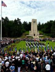 Belleau Wood ceremonies