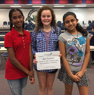Kilmer girls STEM team