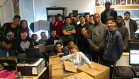 VA Star club gets ready to give away computers