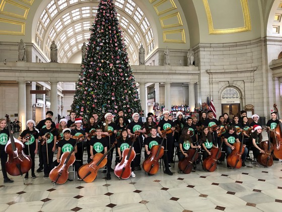 Orchestra to Union Station