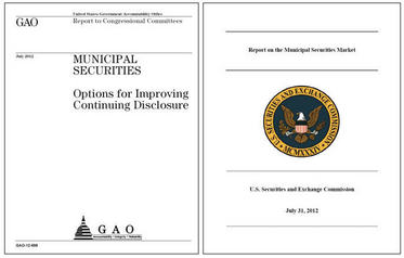 Municipal securities reports
