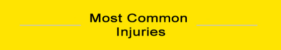MostCommonInjuries