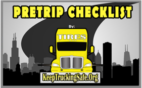Test your skills with this interactive training tool. Pre-Trip Checklist