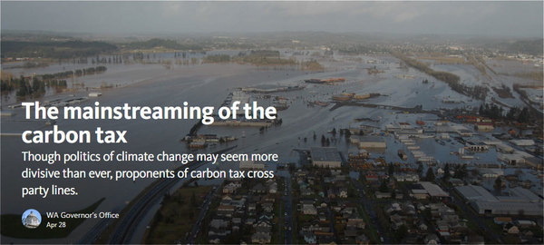 Medium: Though politics of climate change may seem more divisive than ever, proponents of carbon tax cross party lines.