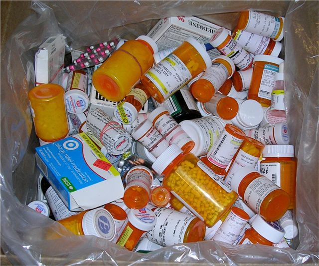 medicines returned at take back event