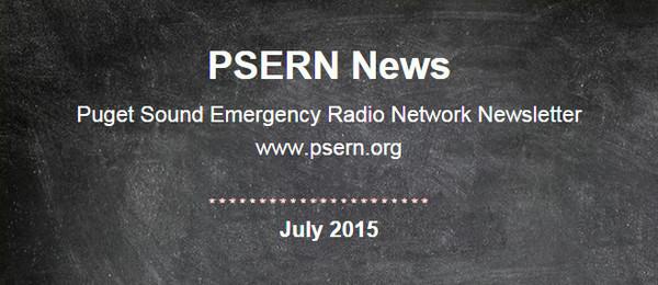 PSERN July Newsletter