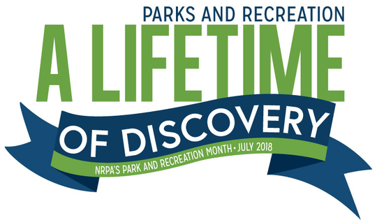 July 2018 Park and Recreation Month