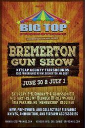Big Top Gun Show June-July 2018