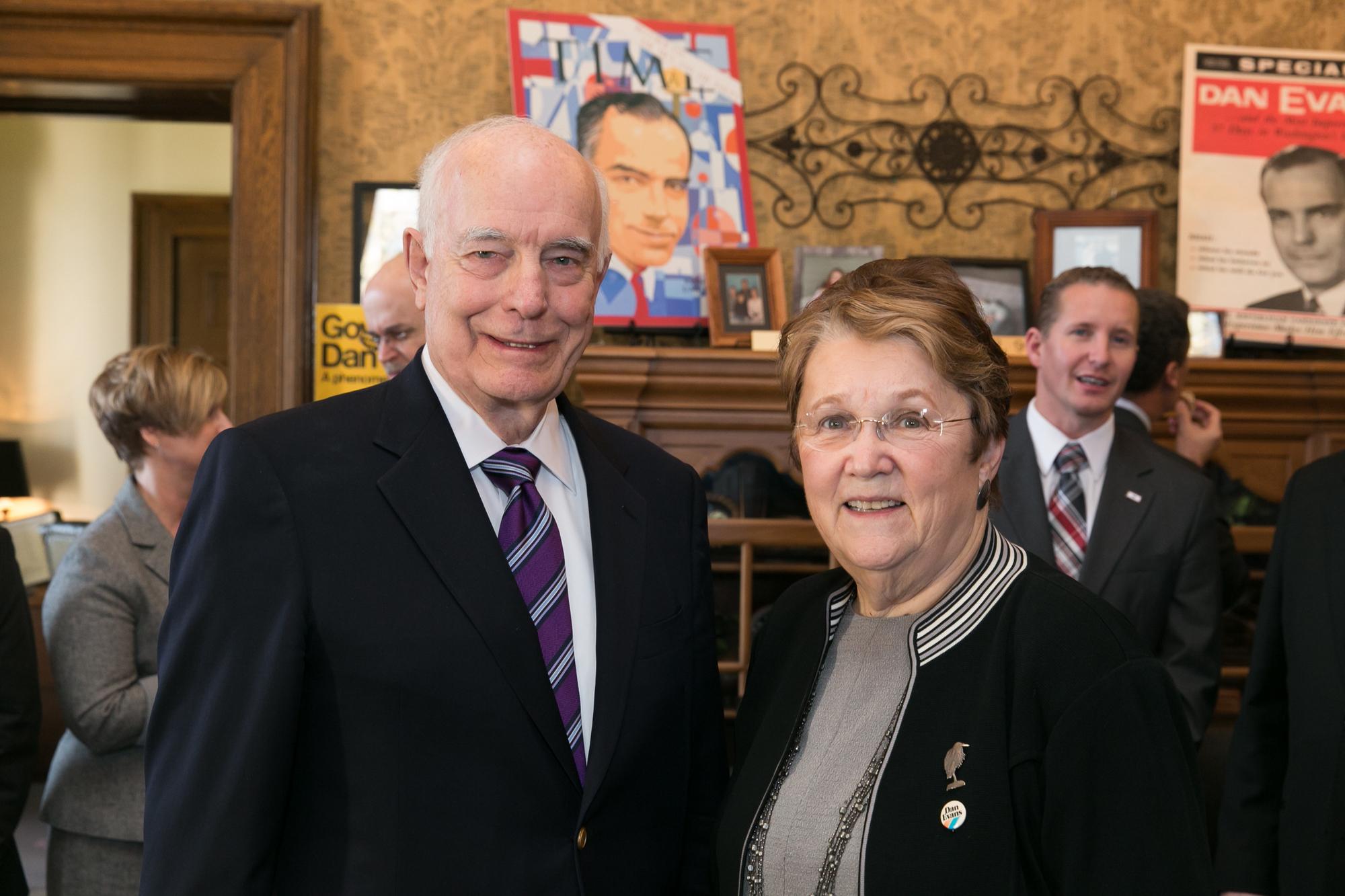 Gov. Evans and Sen. Fraser