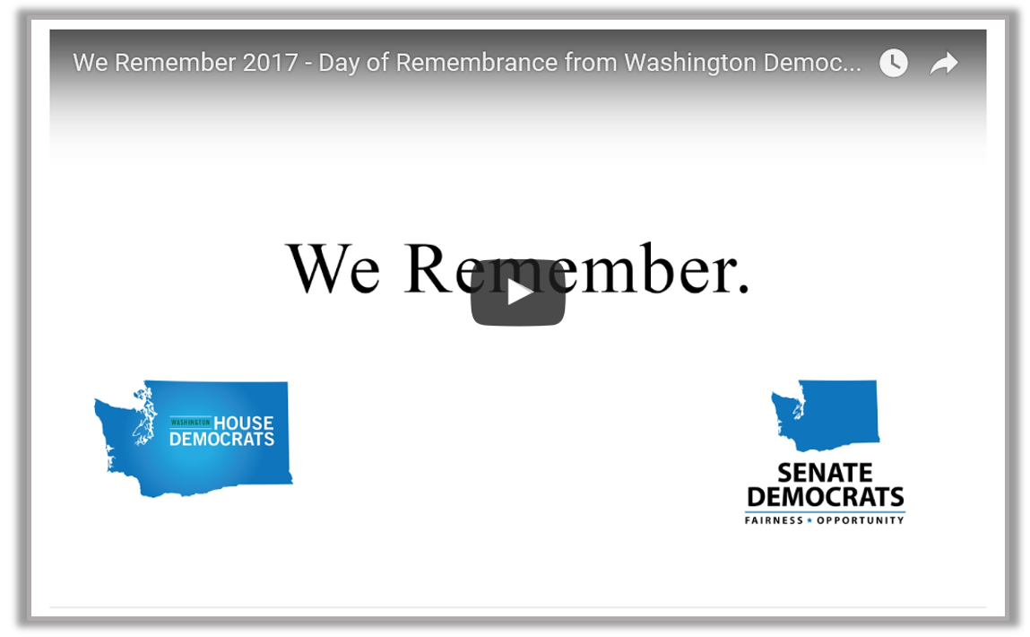 We Remember Video