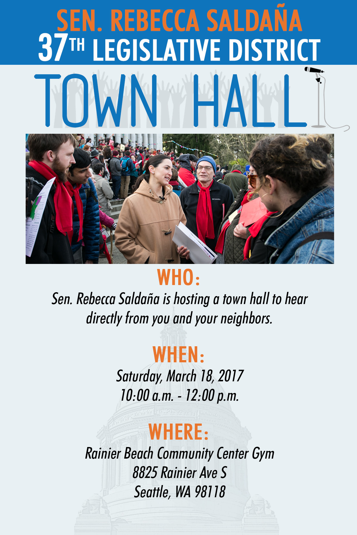 37th town hall 2017