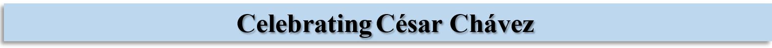 Cesar Chavez banner2