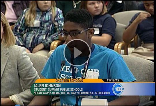 charter school testimony