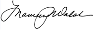walsh signature