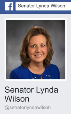 Facebook page Lynda Wilson