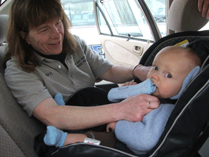 Car Seat Technician Cheryl