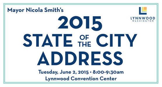 You're Invited - Mayor Smith's State of the City 2015