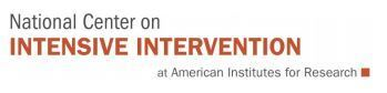 National Center on Intensive Intervention