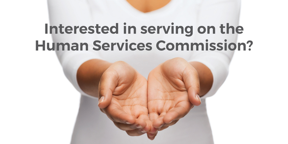 Interested in serving on Human Services Commission?