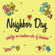 Neighbor Day illustration