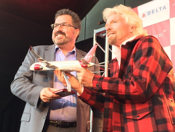 John Creighton & Sir Richard Branson