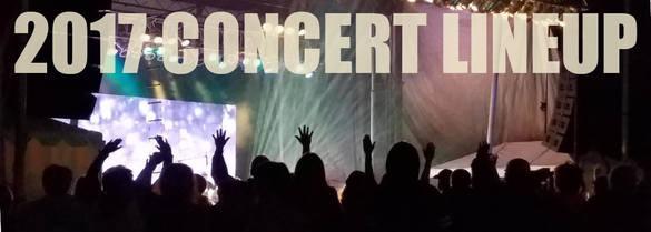 2017 concerts