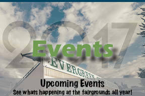 Events at the Evergreen State Fairgrounds