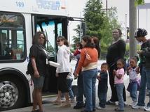 Hilltop bus