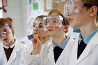 Science Kids with Goggles