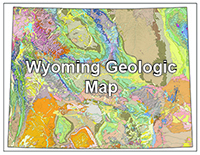 Wyoming Geologic Map
