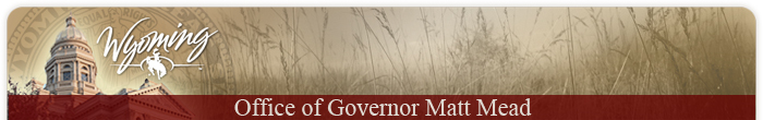 Wyoming Governor Banner image