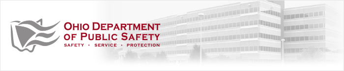 Ohio Department of Public Safety banner image