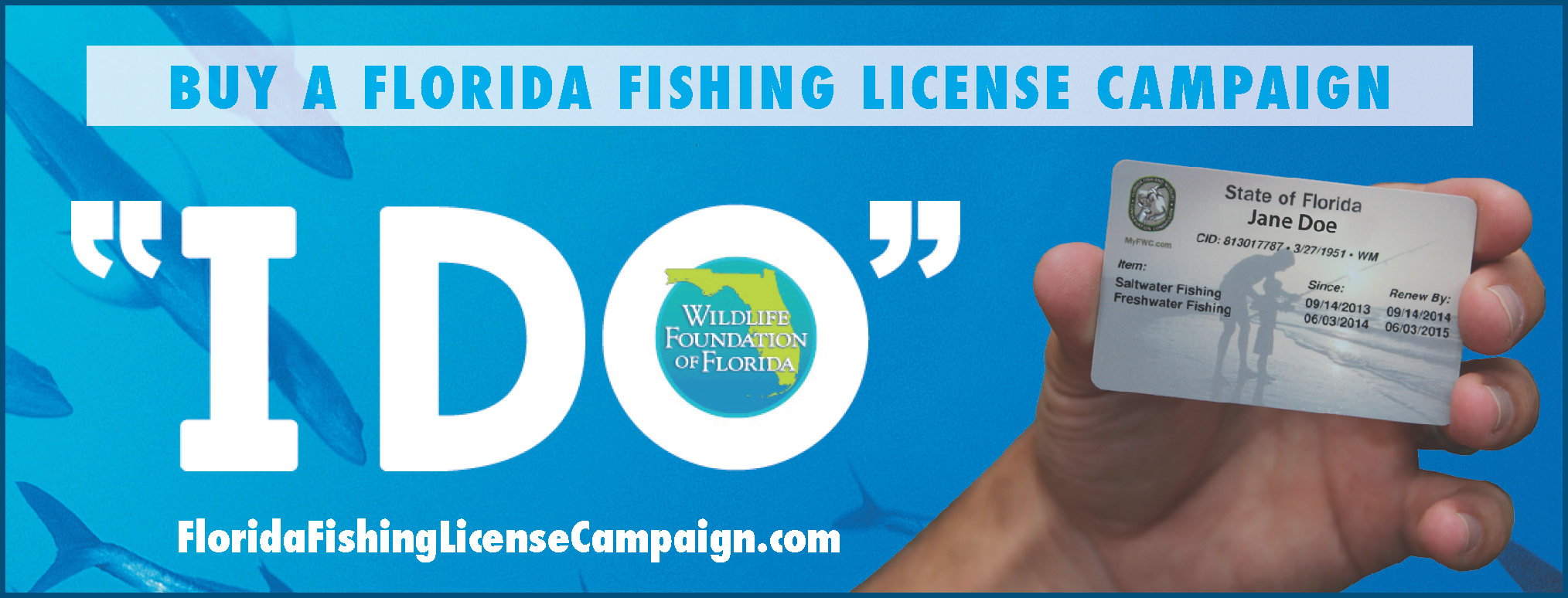 Fwc 39 s florida fish busters bulletin by bob wattendorf for Florida freshwater fishing license