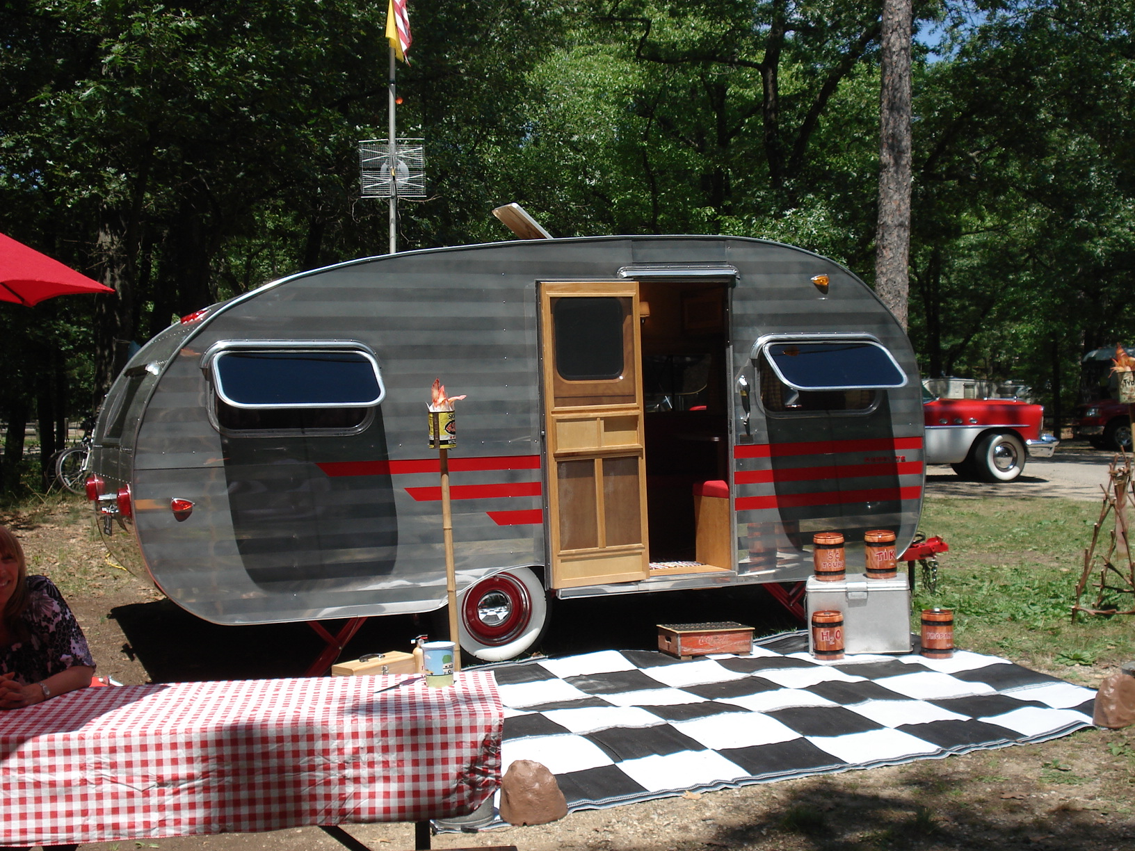 W Photos Vintage Camper Show Brings Nostalgia To Port