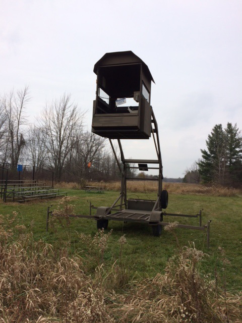 Two accessible hunting blinds offered at Sleepy Hollow ...