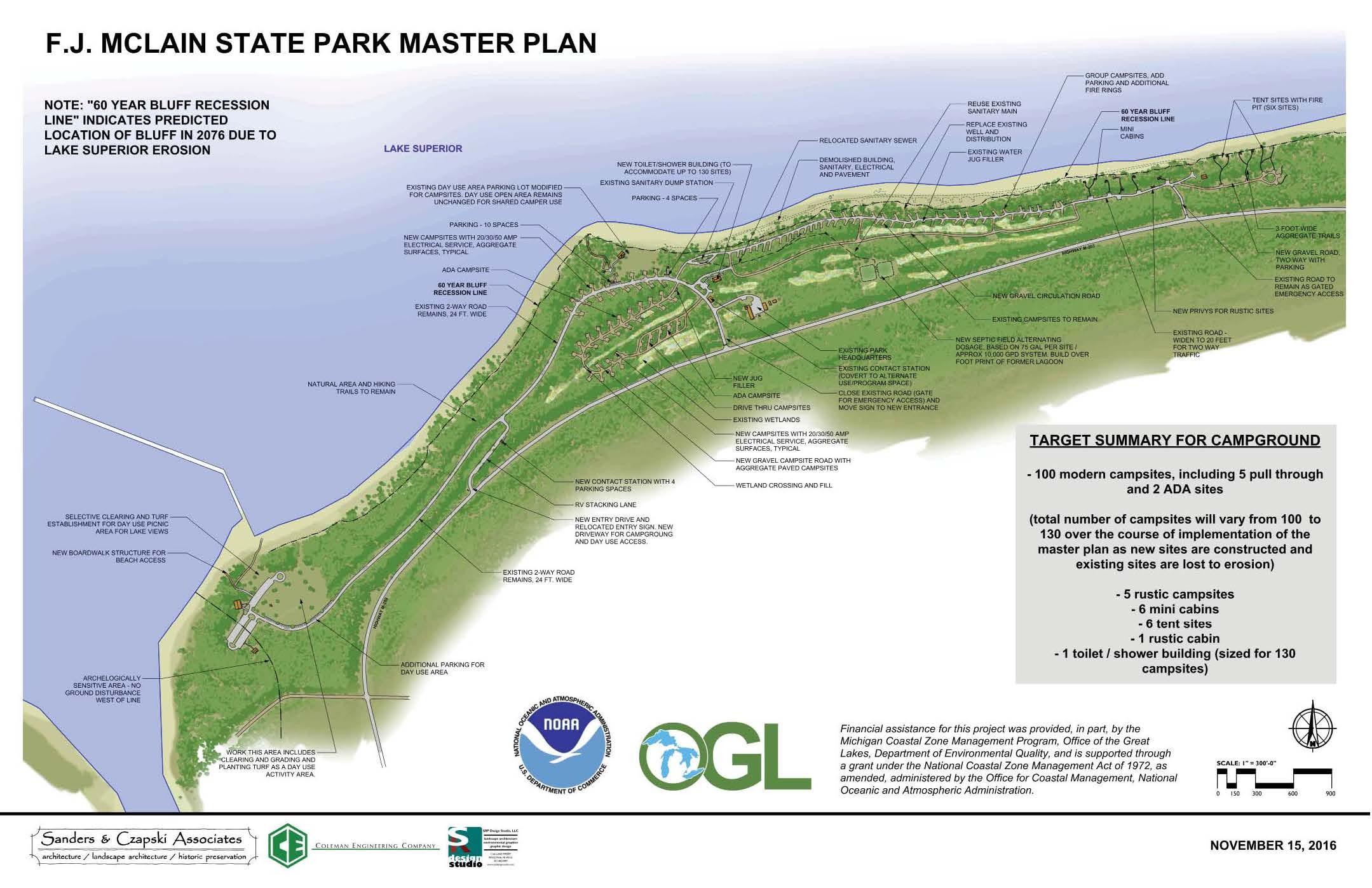 DNR  DNR finalizes master plan for FJ McLain State Park