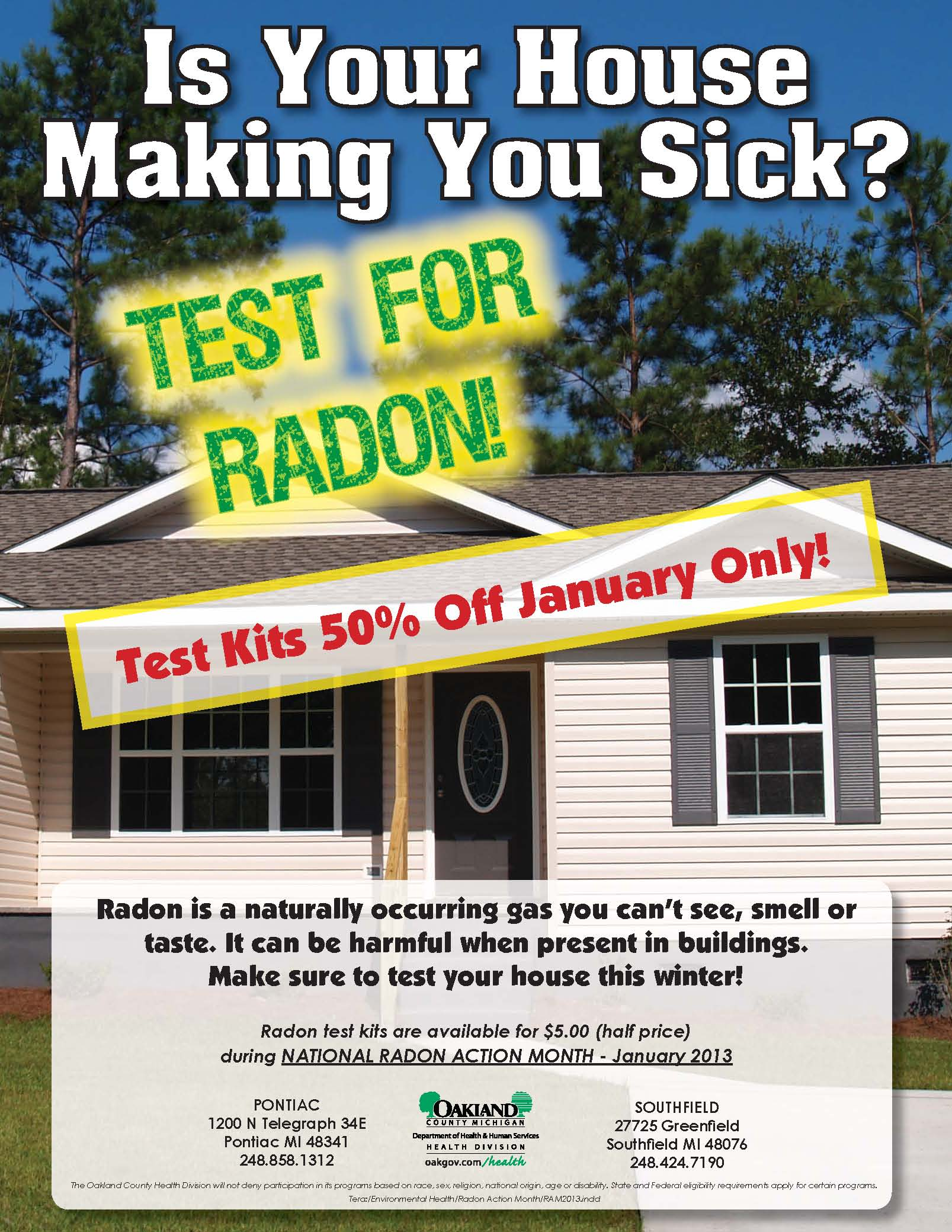 national radon month is going on What is radon radon is a radioactive gas that is released from the normal decay of the elements uranium, thorium, and radium in rocks and soil.