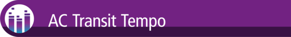 AC Transit Tempo Header Image