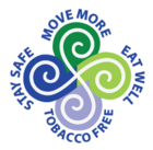 Safe and Healthy Me - Eat Well, Move More, Stay Safe, Tobacco Free.
