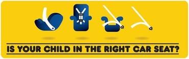 2018 NHTSA Car Seat Banner