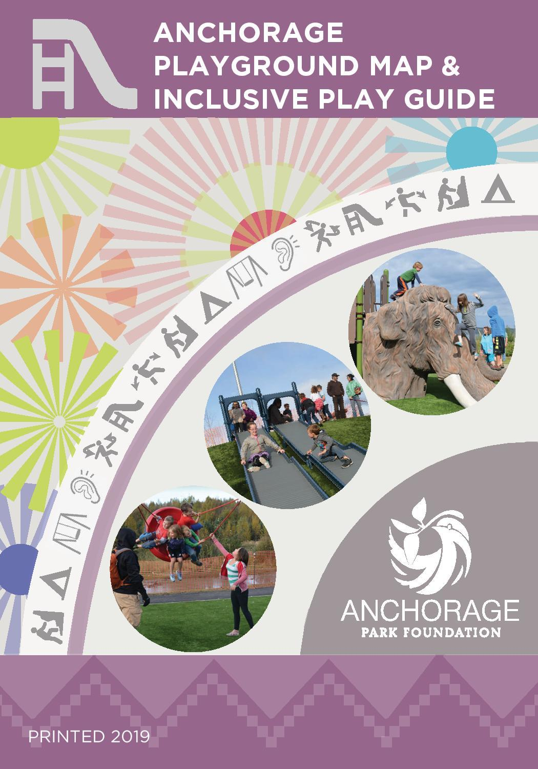 Anchorage Playground Map and Inclusive Play Guide