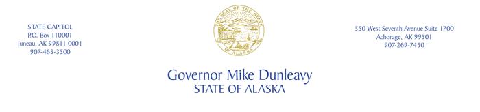 State of Alaska Governor Mike Dunleavy