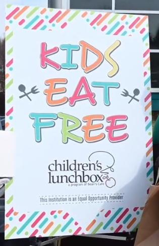 Kids Eat Free Children's Lunchbox