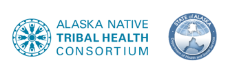 Alaska Native Tribal Health Consortium and Alaska Department of Health and Social Services logo
