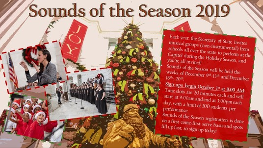 Sounds of the Season 2019