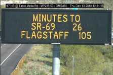 I-17 Travel Times