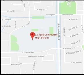 La Joya HS map
