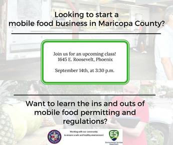 Mobile Food Class